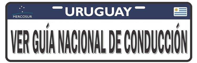 Ver manual de conducción Uruguay