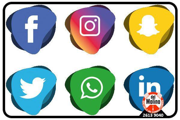 Las redes sociales m{as usadas
