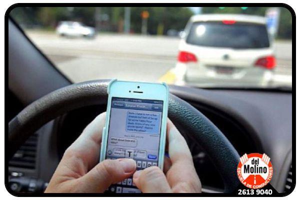 Uso de celulares en accidentes de tránsito