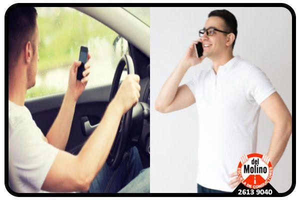 El accidente por culpa del celular, tiene al menos dos responsables.