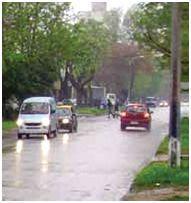 lluvia durante manejo