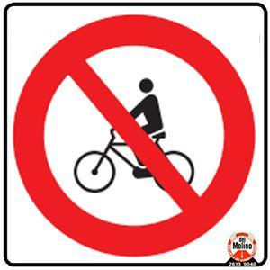 prohibidas bicicletas