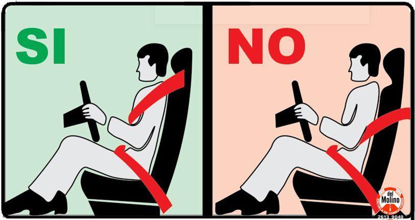 Uso cinturón de seguridad Uruguay