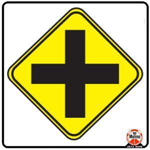 intersección vias
