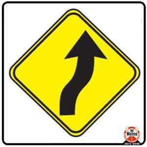 curva derecha contracurva