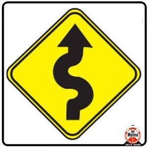 camino sinuso izquierda