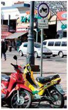 estacionar motos Uruguay