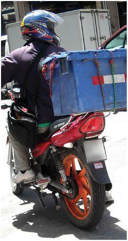 delivery moto Uruguay