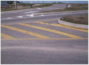 lineas amarillas ruta