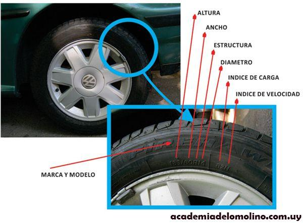 marca y modelo neumáticos uruguay