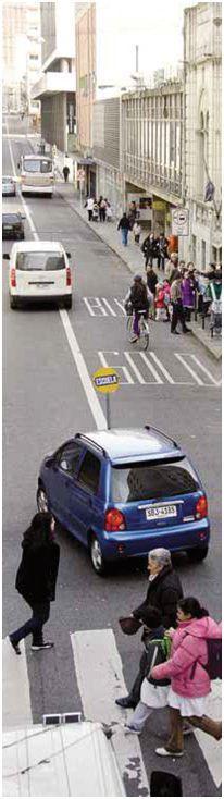 cruces peatonales Uruguay