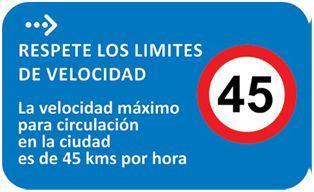 velociad tránsito uruguay