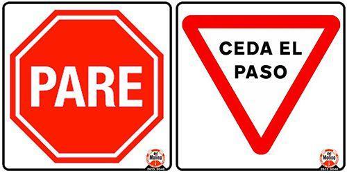 avisos de tránsito en Uruguay