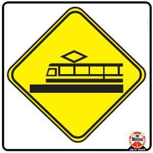 señal de tranvía